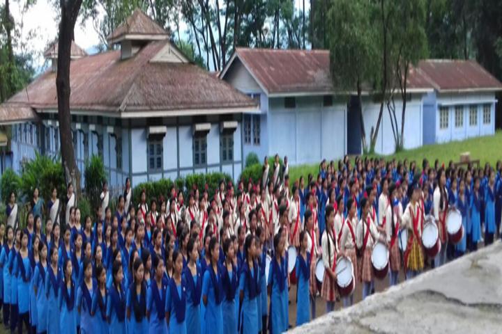 Vivekananda Kendra Vidyalaya-Assembly