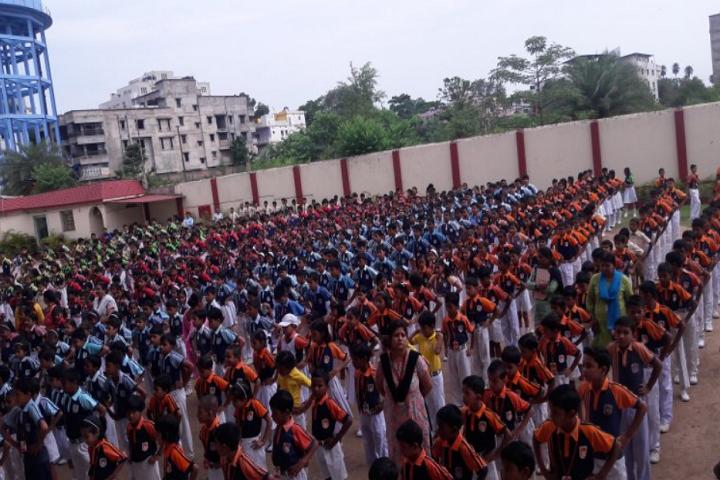 Firayalal Public School-Yoga Day