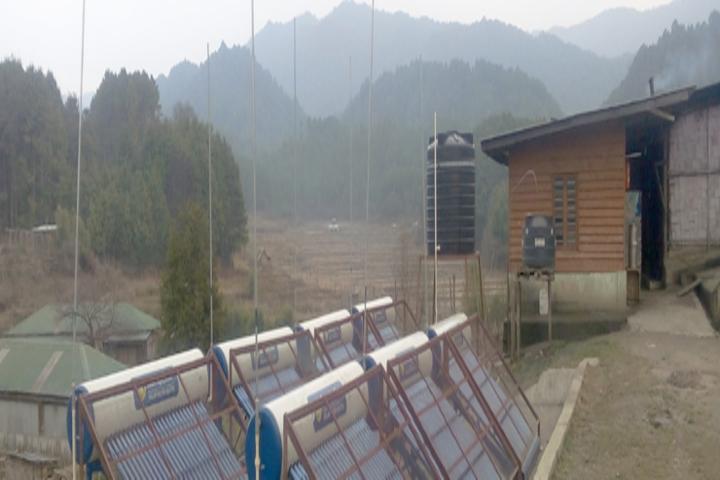 Vivekananda Kendra Vidyalaya-Solor water heater plant