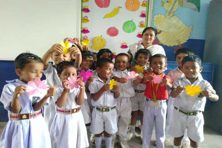 Holy Mothers Academy-Flower Making Competition
