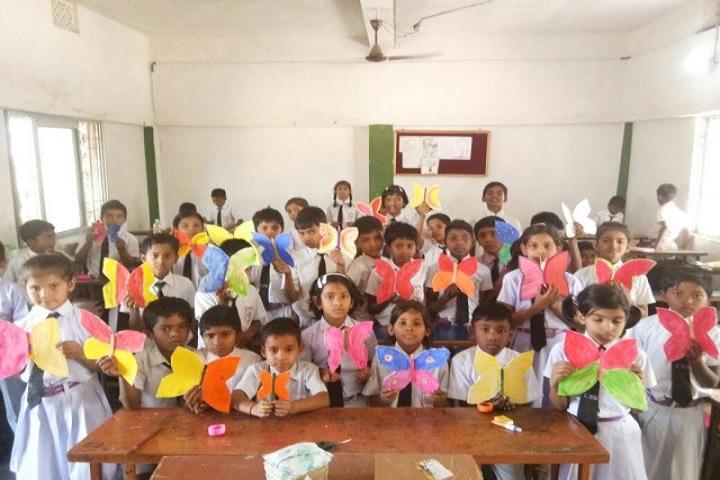 International Public School-Butterfly Making