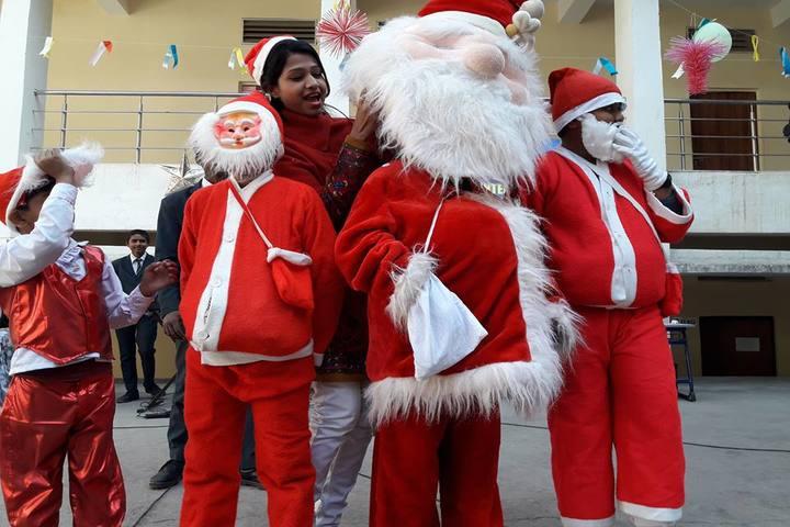 J K International School-Christmas Celebrations