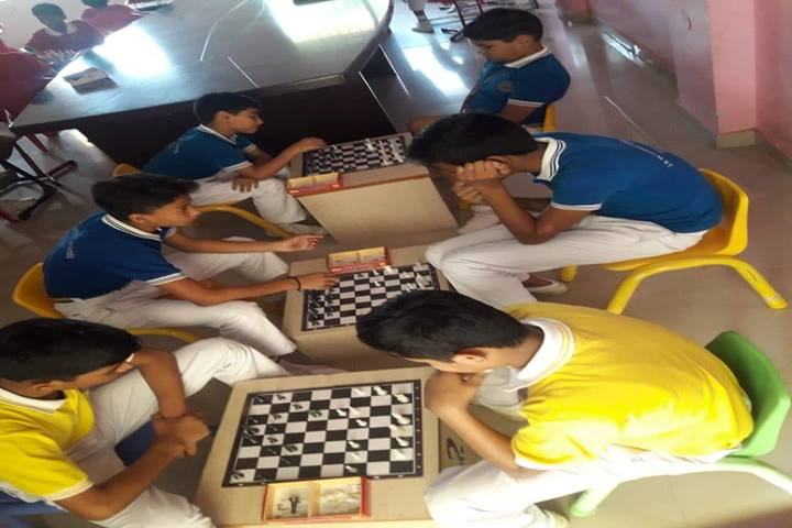 J K International School-Indoor Games