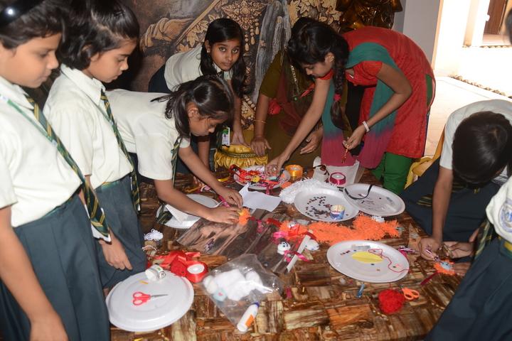 J K International School-Rakhi Celebrations