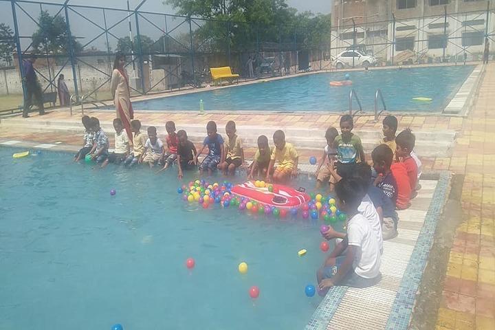 J K International School-Swimming Pool
