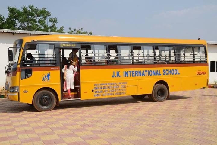 J K International School-Transport