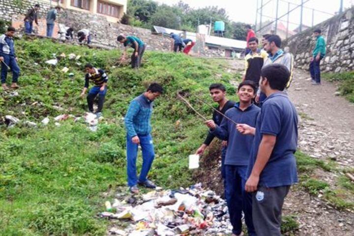 Jawahar Navodaya Vidyalaya-Cleanliness Activity