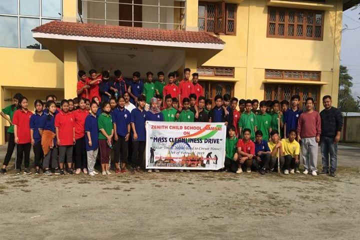 Zenith Child School-Cleanliness Drive