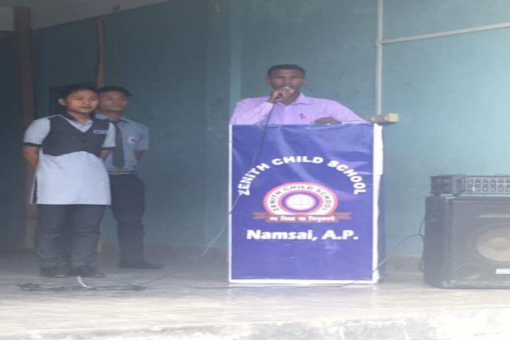 Zenith Child School-Speech