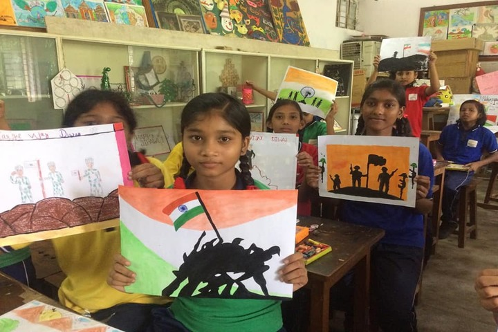 Kendriya Vidyalaya-Drawing Activity