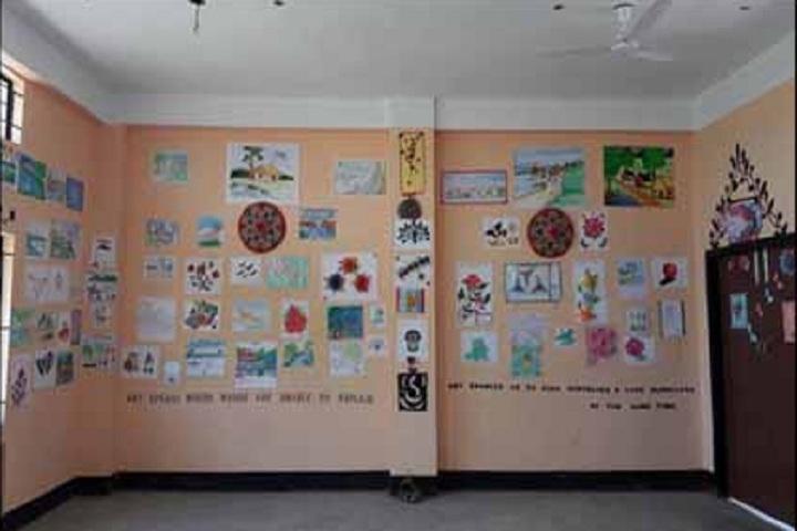 Adarsha Vidyalaya-Art and Craft