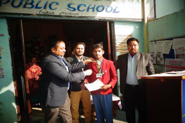 Lord Krishna School-UP Genius Award