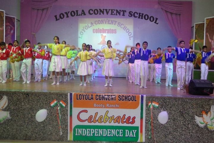 Loyola Convent School-Independence Day