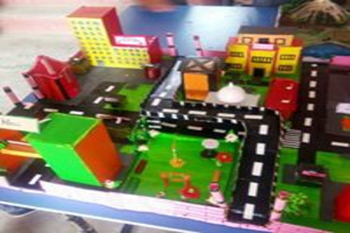 Adarsha Vidyalaya-School Exhibition