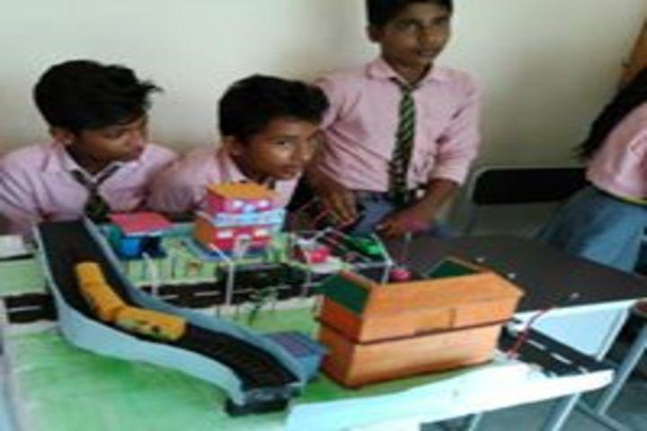 Adarsha Vidyalaya-Science exhibition