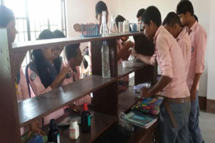Adarsha Vidyalaya-Science Lab
