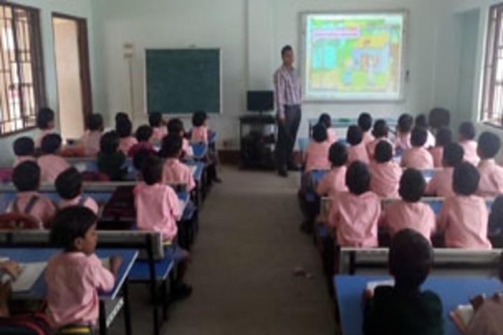 Adarsha Vidyalaya-Smart class