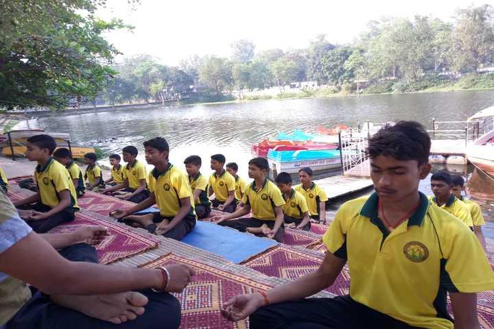Mount Egmont School-Yoga Activity