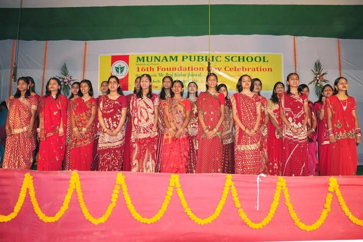 Munam Public School-Foundation Day