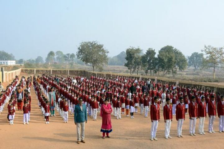 National Public School-Morning Assembly