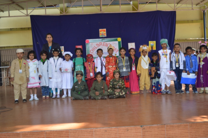 Nirja Sahay Dav Public School-Childrens Day