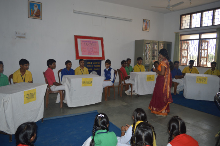 Nirja Sahay Dav Public School-Quiz Competition
