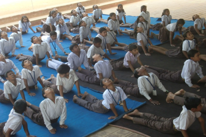 Nirja Sahay Dav Public School-Yoga Activity