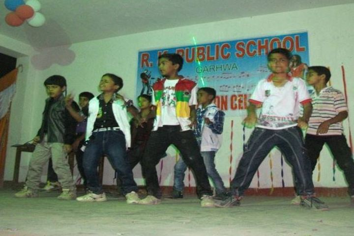 R K Public School-Dance