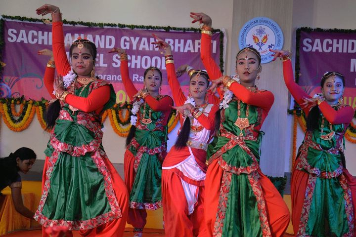 Sachidanand Gyan Bharti Model School-Annual Prize Distribution Day