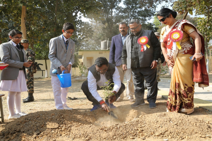 Sarala Birla Public School-Tree Plantation