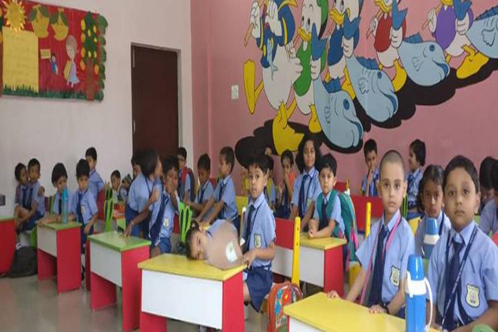 Sharda Global School-Classroom