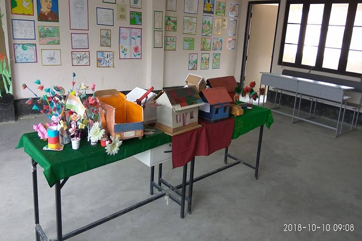 Adarsh Vidyalaya-Science exhibition