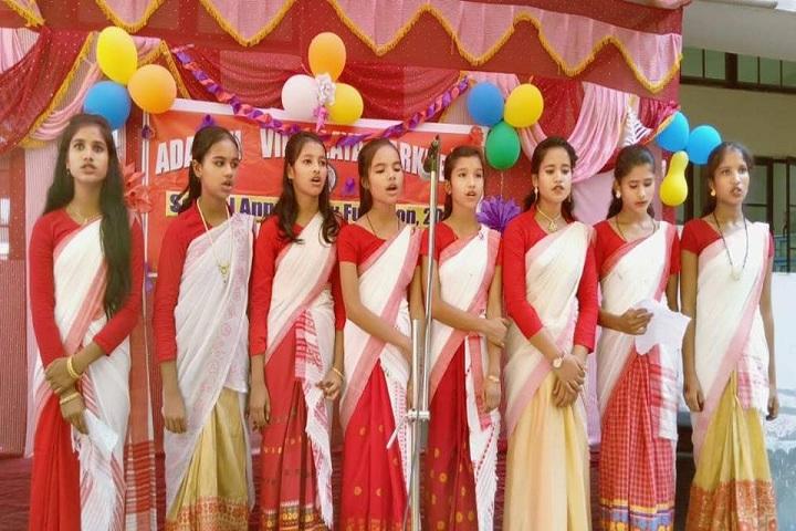 Adarsh Vidyalaya-Singing