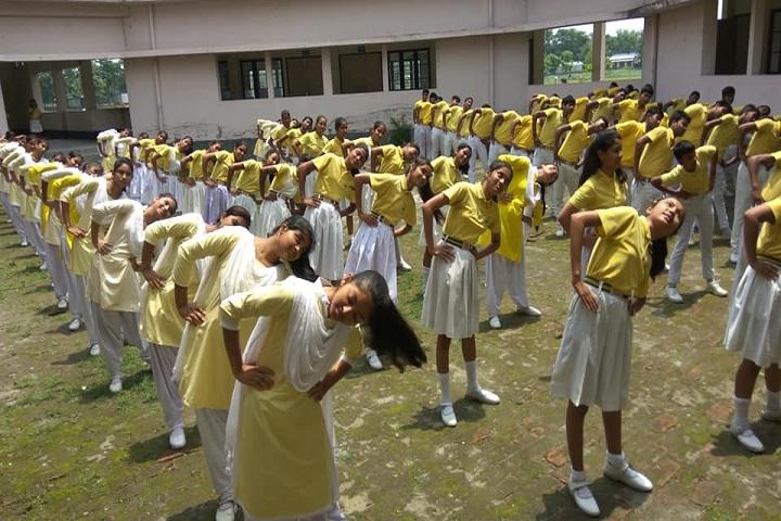 Adarsh Vidyalaya-Yoga