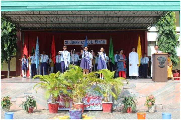 St Johns School-Investiture Ceremony