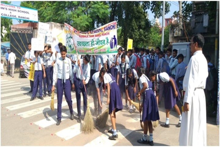 St Johns School-Swatch Bharath
