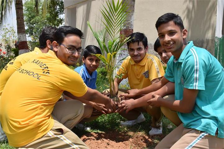 St XavierS High School Deoghar-Earth Day
