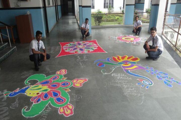 Symbiosis Public School-Rangoli