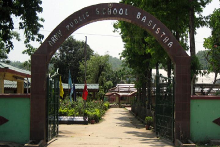 Army Public School-Campus-View entrance