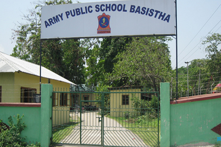 Army Public School-Campus-View gate