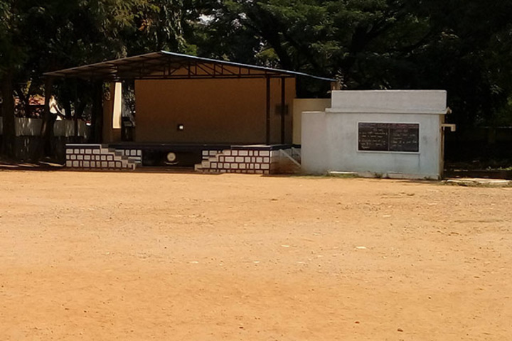 515 Army Base Wokshop High School-Play Ground