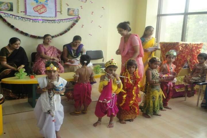 Adarsha Central School-Janmasthami
