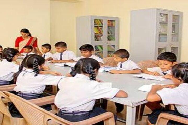Adarsha Central School-Library