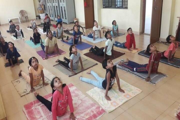 Adarsha Central School-Yoga