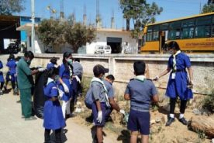 AECS Magnolia Maaruti Public School- Swacch Bharat