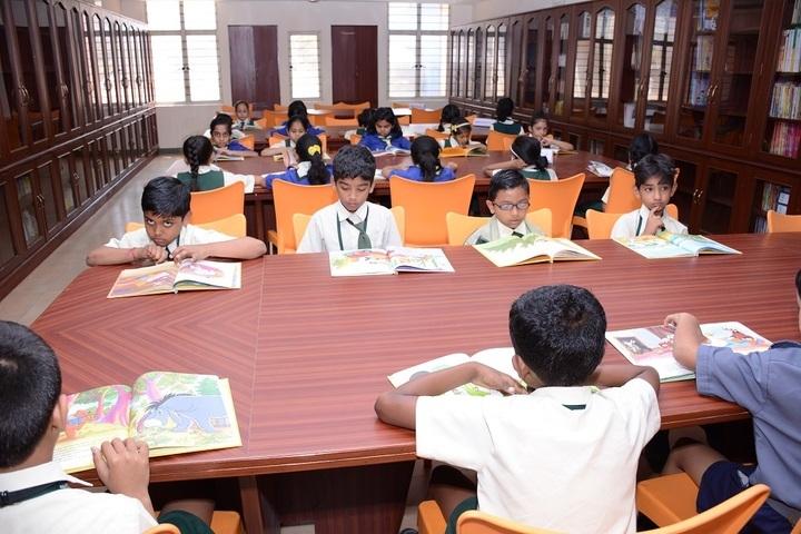 AECS Magnolia Maaruti Public School-Library