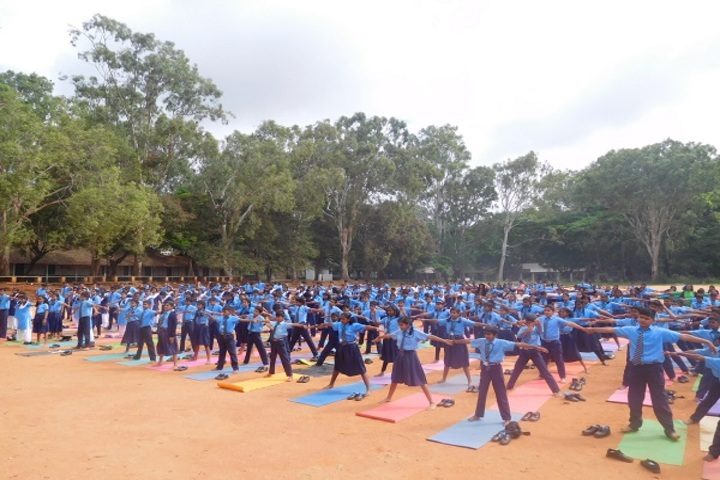 Air Force School-Yoga