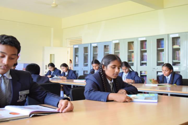 Aishwarya International Public School-Library
