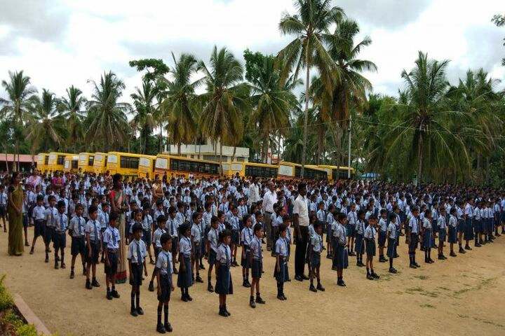 Akshara International Public School-Assembly