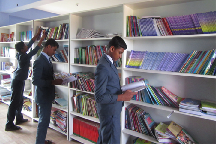 Akshara International Public School-Library
